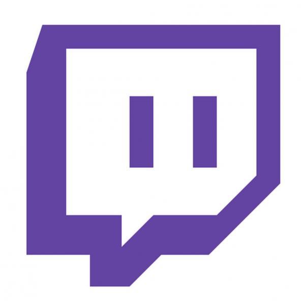 Логотип площадки Twitch.tv